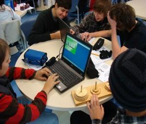 foto Laboratorio de Matemática como Servicio de Biblioteca Escolar – Colégio Anchieta