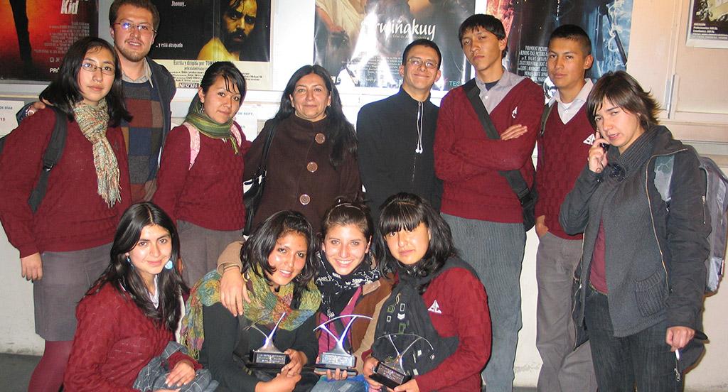 Gestos y miradas: Encuentro de literatura, artes escénicas y audiovisuales – Colegio San Calixto