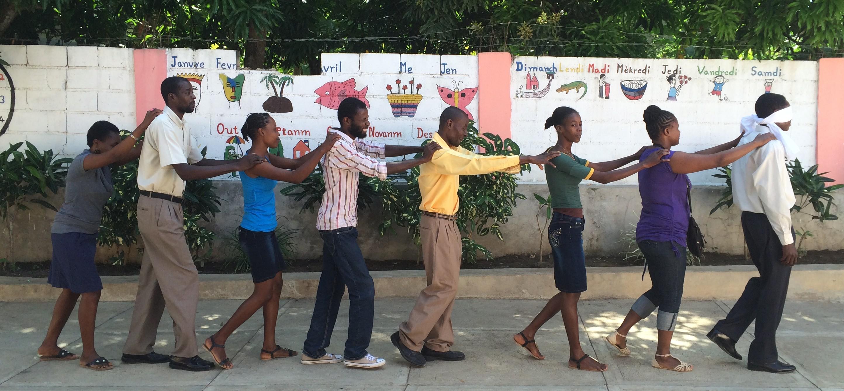 Fortaleciendo la Pastoral en las escuelas del sur de Haití